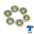 SHS Metal 9mm Ball Bearing For AEG Gearbox- 6pcs