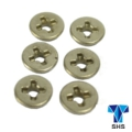 SHS 8mm Steel Cross Slot  Bushing