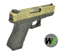 WE Aluminum Slide G23 GBB Pistol Classic Pattern(Bronze)