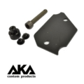 AKA Aluminum Plate for AIP Pouch (Black)