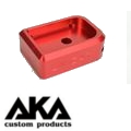 AKA CNC Limcat Puzzle Magazine Base for Marui Hicapa (Red/Large)