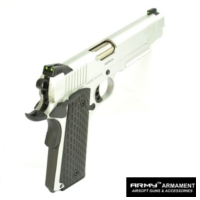 ARMY Kimber Warrior R28 METAL Airsoft GBB Pistol (Sliver)