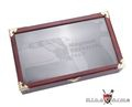 King Arms Magnum Research Style DE Wooden Box with Glass Lid