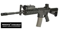 Army Metal SOPMOD M4 Assault Rifle EBB (R40, Black)