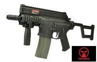 AMOEBA M4 CCR Pistol AEG Rifle (AM001, Black)