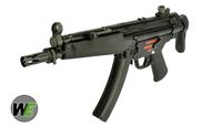 WE Stamped Steel Frame APACHE A3 SMG GBB (M5A5, Black)