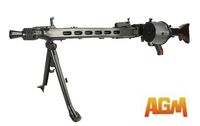 AGM Metal MG42 General Purpose Machine Gun AEG (Black)