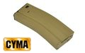 CYMA 300 rounds hi-cap magazine for M4 AEG (Tan)