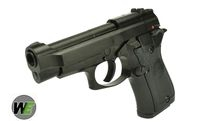 WE Metal Cheetah M84FS GBB Pistol (Mini 92, Black)