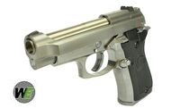 WE Metal Cheetah M84FS GBB Pistol (Mini 92, Silver)