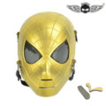 Zujizhe Saw Wire Mesh Spiderman Mask DC19 - Gold