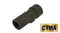 CYMA Metal MP5 Threaded Flash Hider for CM041/049 AEG (14mm CCW)