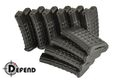 Defend 330 rounds hi-cap magazine for AUG AEG 10 pcs set (Black)