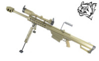Snow Wolf M82A1 CQB Sniper Rifle AEG with Scope (Dark Earth)
