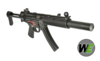 WE Stamped Steel Frame APACHE SD3 SMG GBB (Black)
