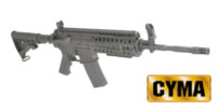 CYMA M4 SYSTEM Assault Rifle AEG (CM016, Black)