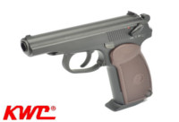 KWC CO2 Full Metal Makarov KCB44 pistol (Black)