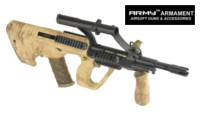 Army AUG Para Model AEG with 3X Scope (R904, Kryptek Nomad)