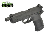 Cybergun Metal Slide FNX-45 Tactical GBB Pistol (Black)
