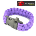 Element Safety rope bracelet with Quick Release Buckle - Purple