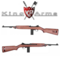 King Arms M1 Carbine CO2 GBB Rifle(AG127)