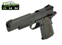 Cybergun Metal COLT marking 1911 CO2 Pistol (Black)