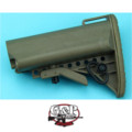G&P Crane Buttstock for Marui GBB M4A1 (Sand)