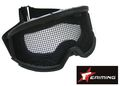 EAIMING Airsoft Protect Tactical Metal Reticular goggle -BK