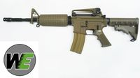 WE M4A1 Gas Blow Back Open-Bolt Airsoft Rifle CB (No Marking)