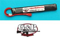G&P EP Power 7.4V 1200mAh 30C Lithium Battery (T-Plug)