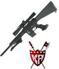 "King Arms 16"" Free Float Heavy Barrel Sniper Rifle"