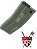 King Arms 68 rds Magazine for Marui M4 series w/ H&K marking -OD