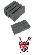 King Arms G3 Series 130 rounds Magazines Box Set (5pcs)