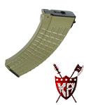 King Arms 140 rounds Waffle Pattern Magazine for AK series -DE
