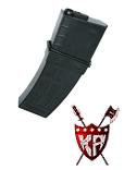 King Arms 130 rounds TangoDown Style Magazine for M4 Series - BK
