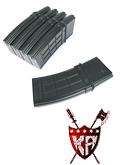 King Arms M4 130 rounds TangoDown Style Magazines Box Set (5pcs)