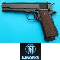 KJ Works M1911A1 Full Metal Pistol  (CO2 Version)
