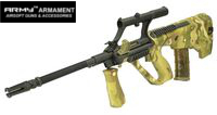 Army AUG Military Model AEG with 3X Scope (R902, Multicam)