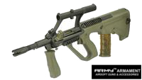 Army AUG Para Model AEG with 3X Scope (R904, Olive Drab)