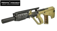 Army AUG Tactical Assault Rifle AEG with RAS (R905, DE)