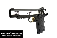 Army Metal Kimber Warrior Marking M1911A1 GBB Pistol(2-Tone)