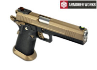 Armorer Works HX1003 HI-Speed 5.1 GBB Pistol (Tan)