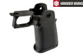Armorer Works HX series Hexagon Texture GBB Grip (Black)
