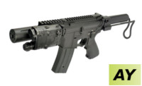 AY Patrol M231 Stock M4 AEG Rifle (Black)