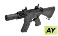 AY Patrol Fixed Stock M4 AEG Rifle (Black)