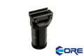 CORE Aluminum 3.4 inch RK-0 Foregrip For 20mm Rail System(Black)