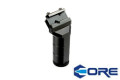 CORE Aluminum 45Degree RK-1 Foregrip For 20mm Rail System(Black)