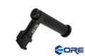 CORE Aluminum LMG Carry Handle For PKM 20mm Rail(Black)