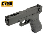 CYMA G18C SEMI/FULL AUTO Electric Pistol AEP (BK)
