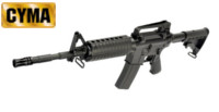 CYMA M4A1 Extendable Buttstock Rifle AEG (CM503 , Black)